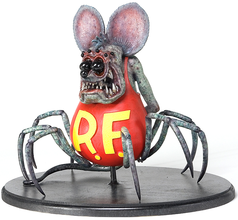 Spider Fink Rat Fink By Chet Zar Trampt Library
