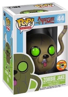 Adventure Time Zombie Jake Pop Vinyl By Funko