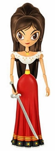 Maria doll from the book of life