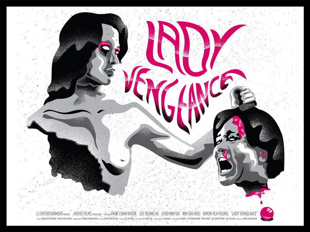 Lady Vengeance Screenprint By Sal Gabriel Trampt Library