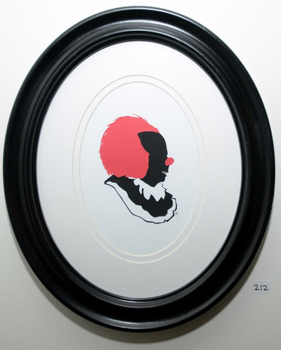 Pennywise It Hand Paper Cut Silhouette By Jordan