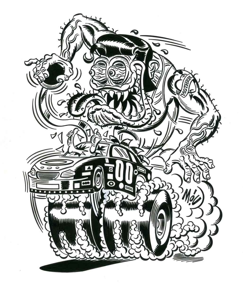 Greaser Roth Ink By Mitch O Connell Trampt Library