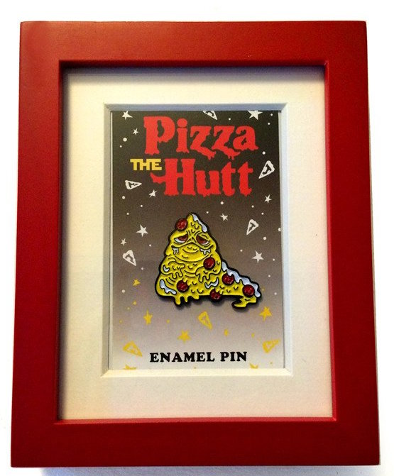 Pizza The Hutt Mixed Media By Miranda Dressler Trampt Library