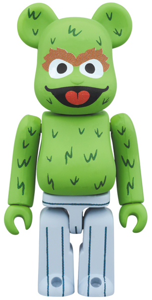Sesame street - oscar the grouch 100% Be@rbrick by