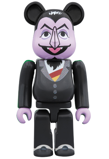 100 Sesame Street Count Von Count Be Rbrick By