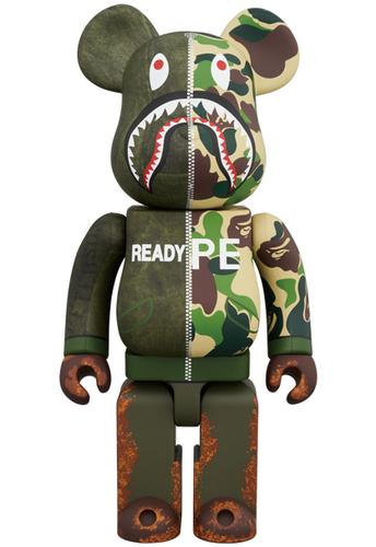 fadfe699 ... Be@rbrick; Manufacturer: Medicom Toy · View Image Larger  400_readymade_camo_berbrick-bape_a_bathing_ape-berbrick-medicom_toy-trampt-295567m