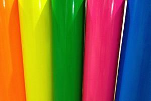 Vinyle 2 mil fluorescent 3M