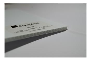POLLYCOR BLANC 4' X 8' X 4MM