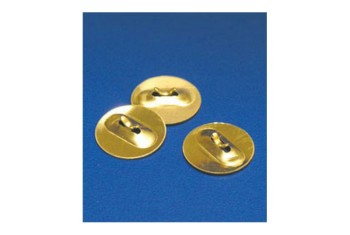 15MM BRASS ELECTRODE BUTTONS