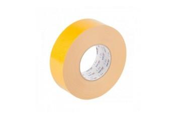 24MM X 50M RUBAN D/F PVC BLANC