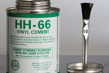 HH-66 VINYL CEMENT-16 OZ W/BRUSH TOP