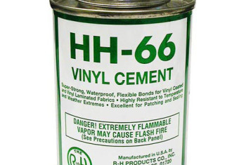HH-66 VINYL CEMENT-4 OZ W/BRUSH TOP