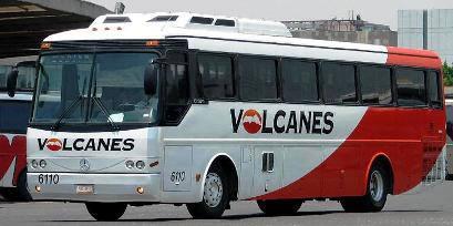 Autobus Volcanes