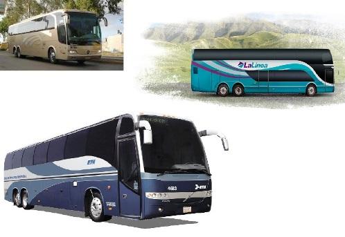 Autobuses de pasajeros