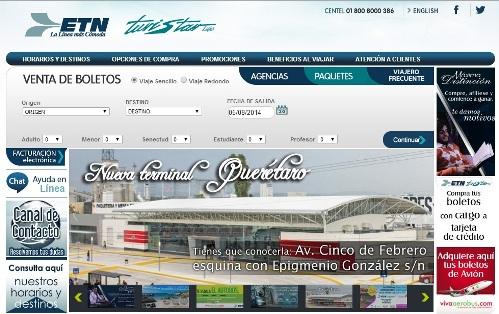 Terminal ETN Querétaro