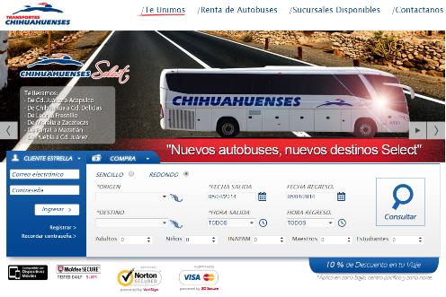 Autobuses Chihuahuenses Select