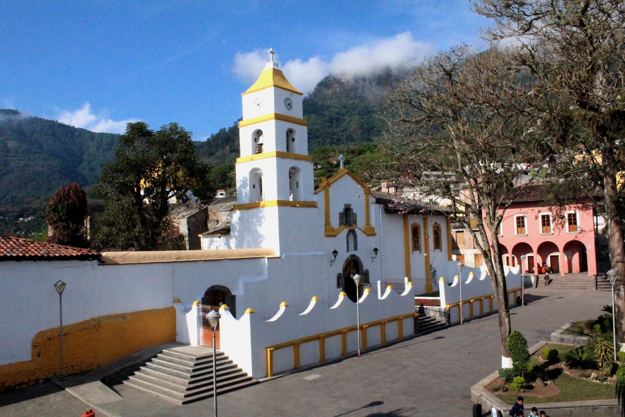 iglesia santiago apostol Pahuatlán Puebla