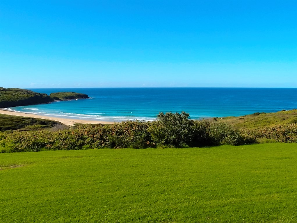 Killalea Beach view from top