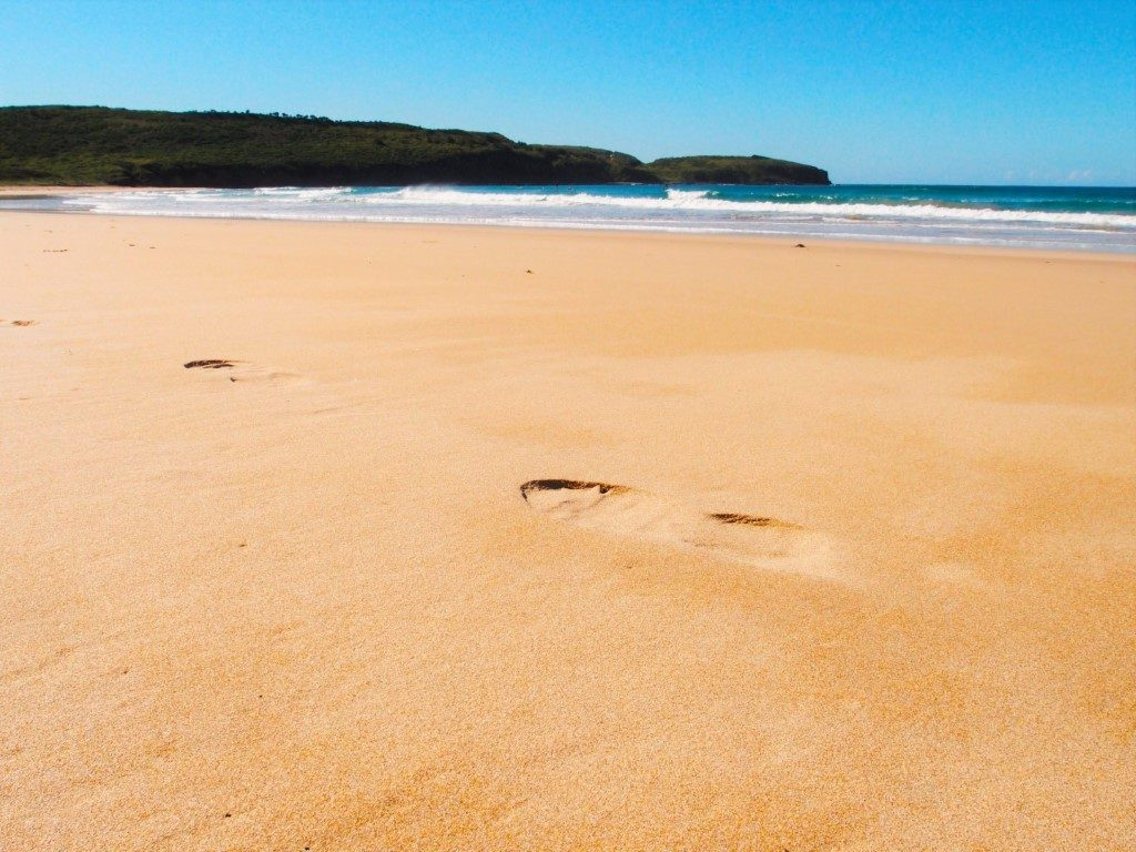 Killalea Beach Footprints