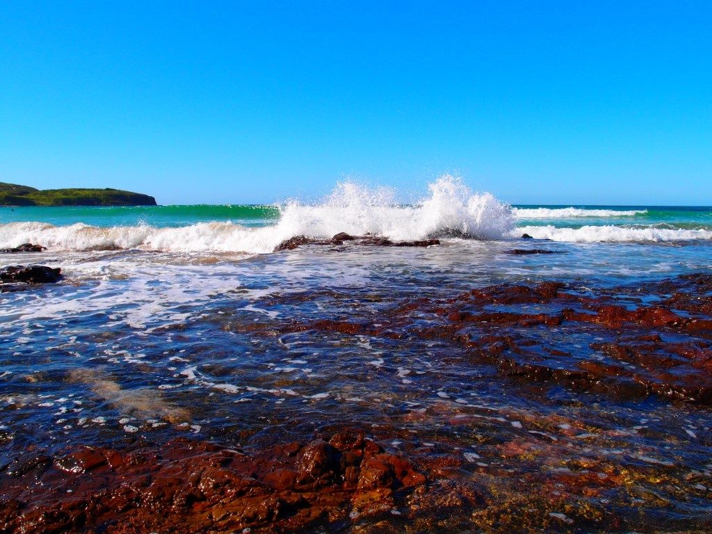 Killalea Beach Rocks