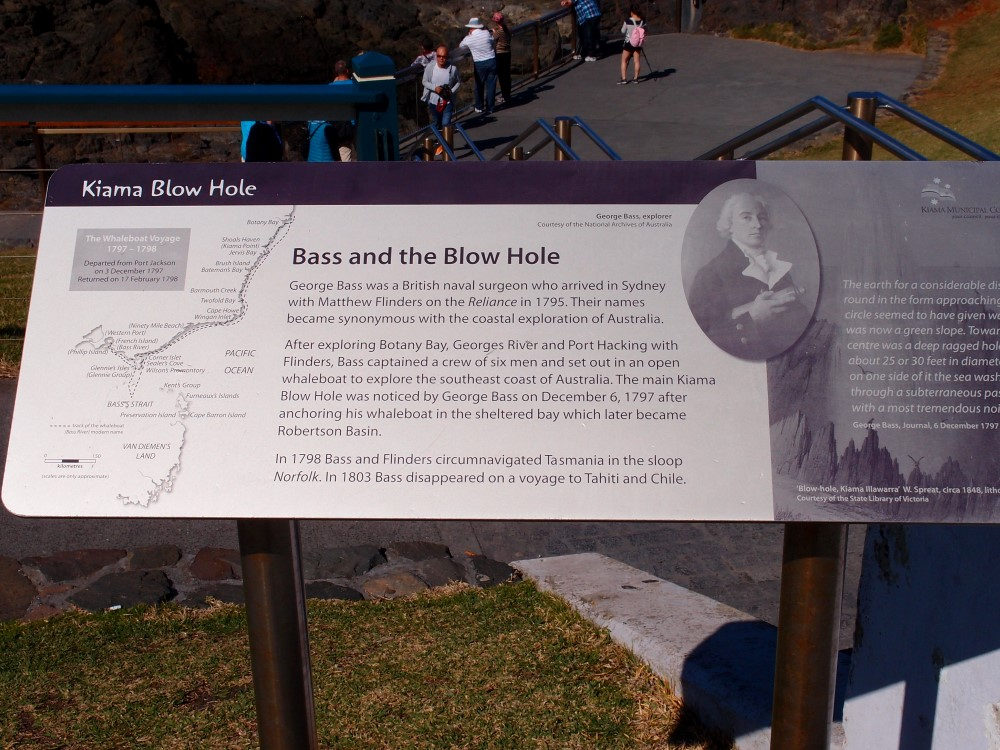 Kiama Blowhole who discovered
