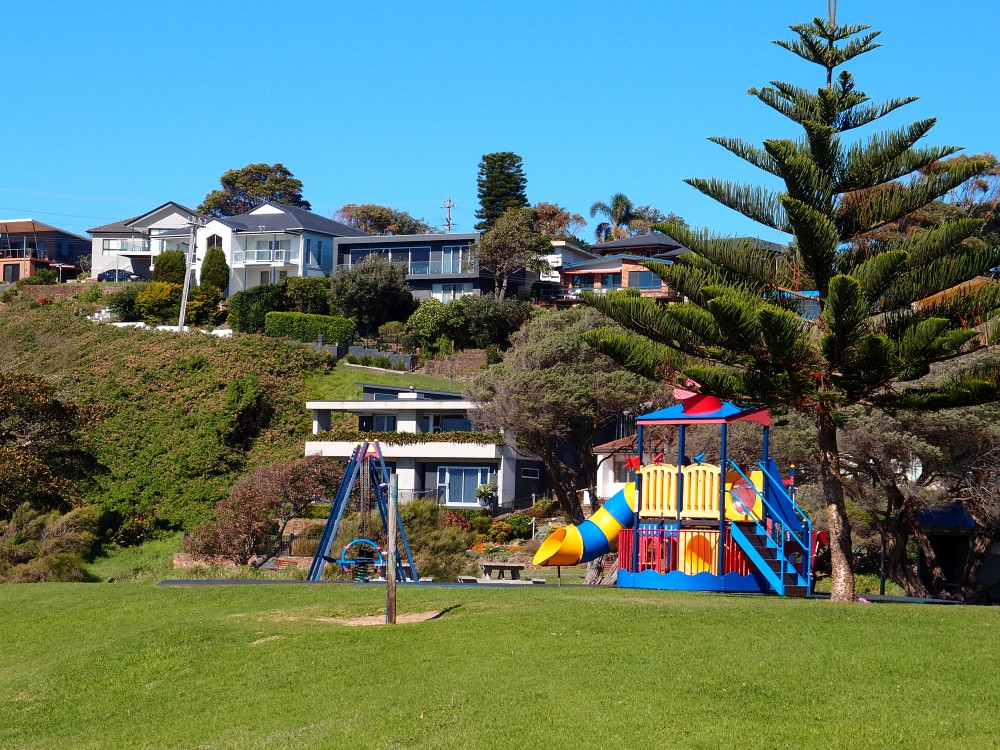Kendalls Beach Childrens Facilities and Houses