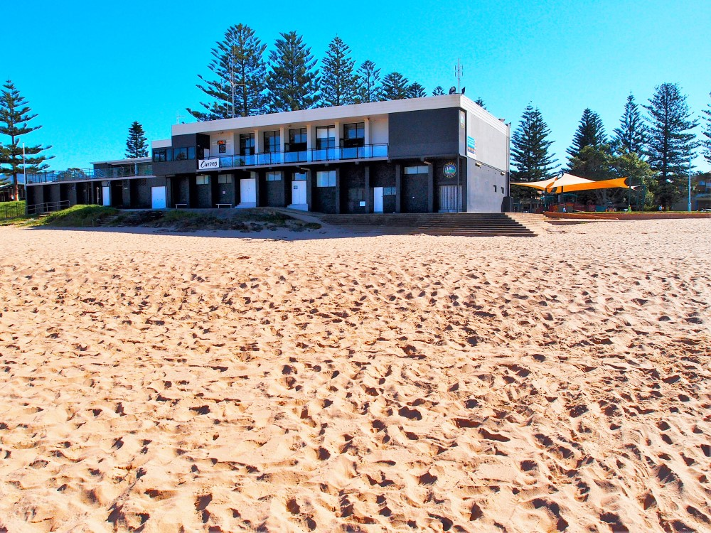 There is a Curves gym right at Kiama Surf Beach