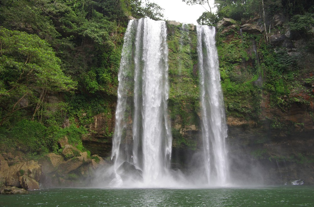 Misol-Ha Waterfall Chiapas Mexico
