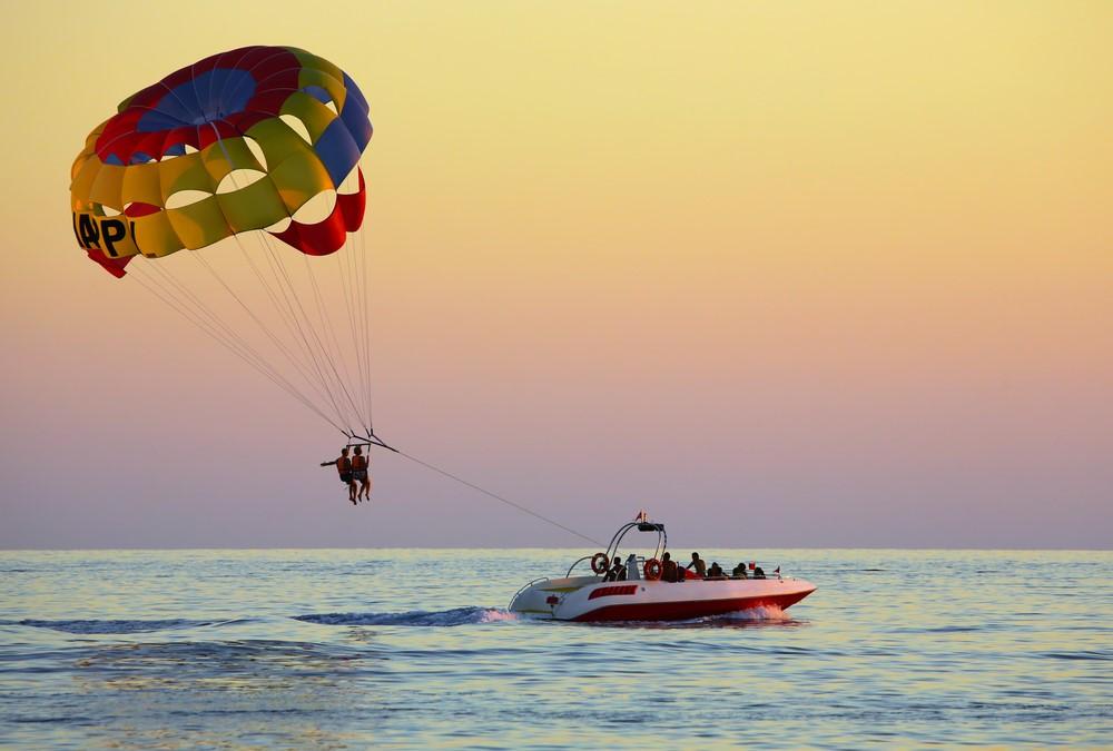 Go parasailing