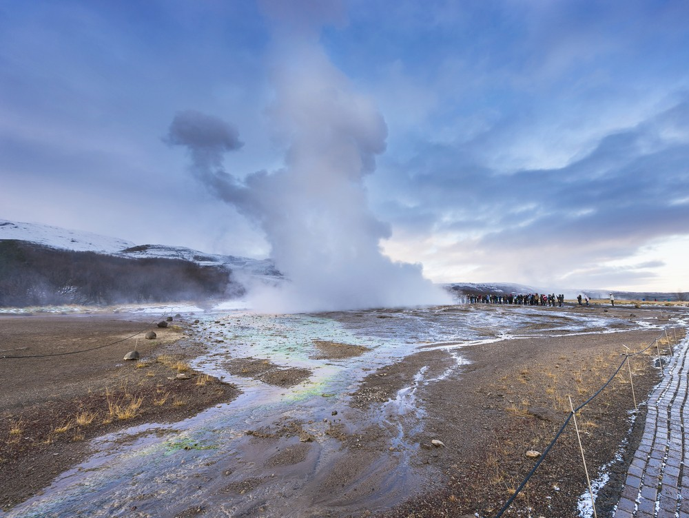 When is The Best Time to Visit Iceland - Strokkur