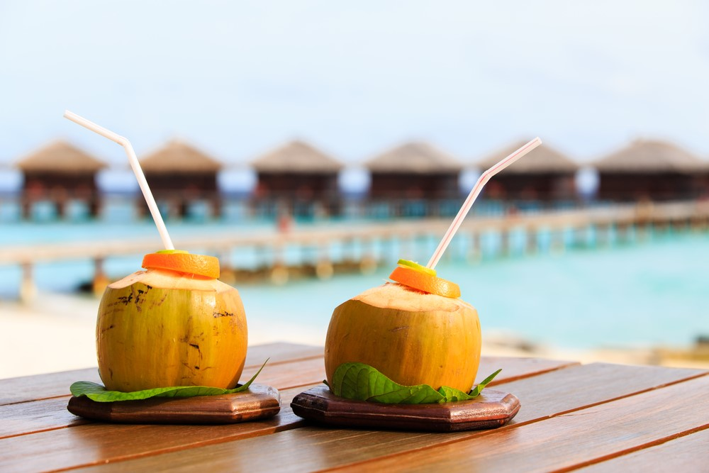 The Maldives on a budget Drinks