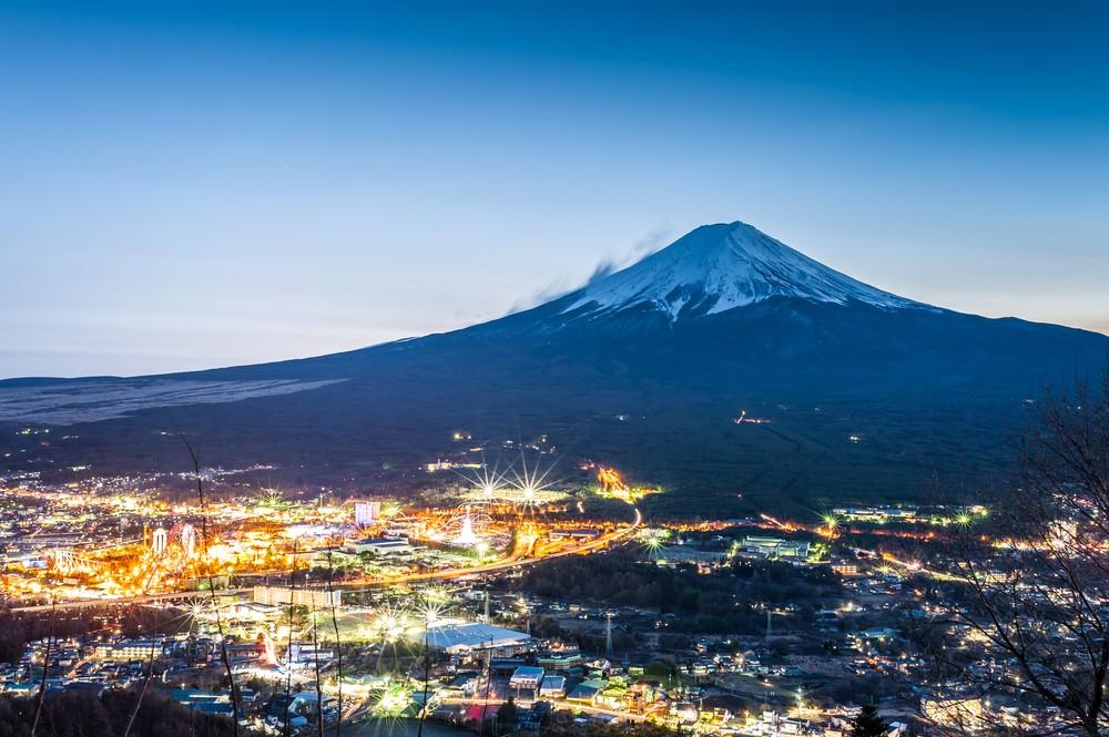 Mind-blowing volcanoes Mount Fuji, Japan