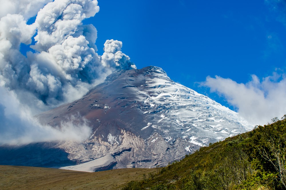 Mind-blowing volcanoes Cotopaxi, Ecuador