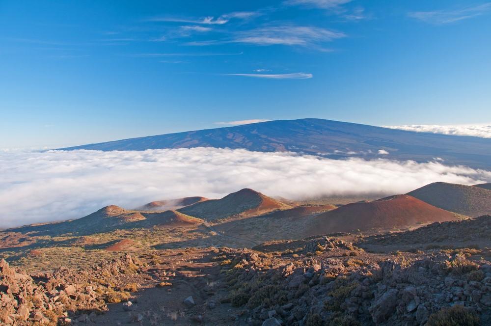 Mind-blowing volcanoes Mauna Loa, Hawaii