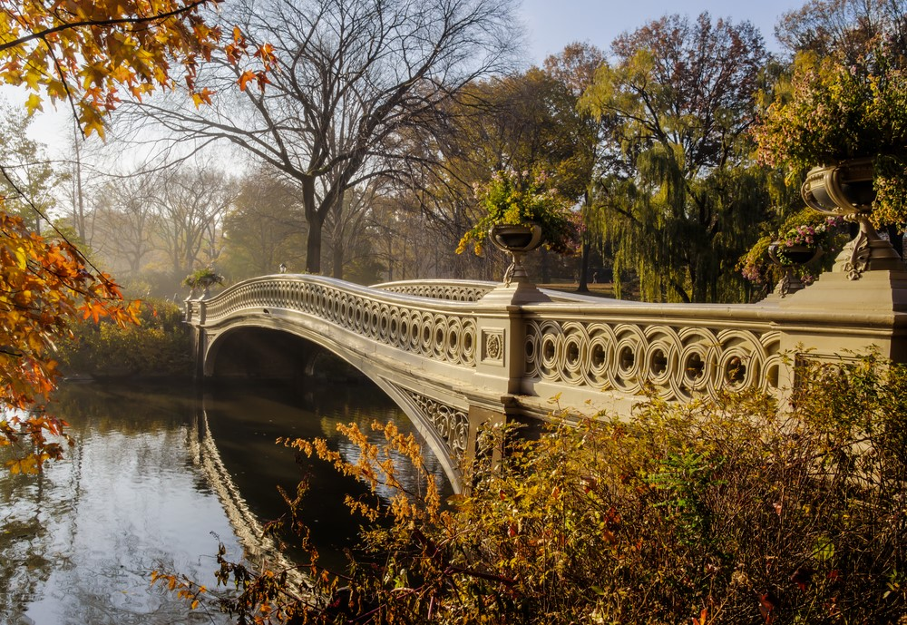 Most romantic places Central Park in New York City, New York