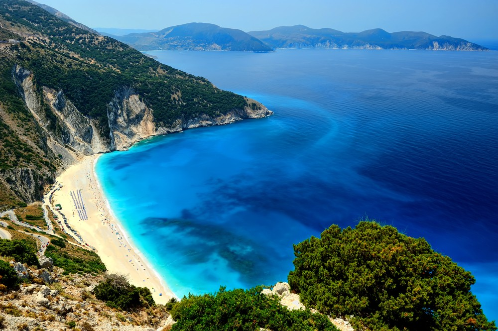 15 Must-See Places In Greece - Myrtos Beach