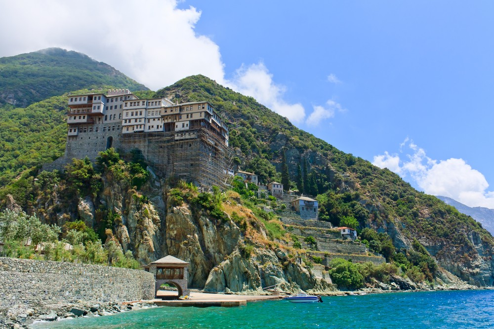15 Must-See Places In Greece - Mount Athos