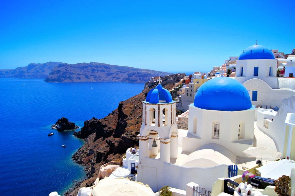 Top 16 Mediterranean Vacation Spots - Santorini