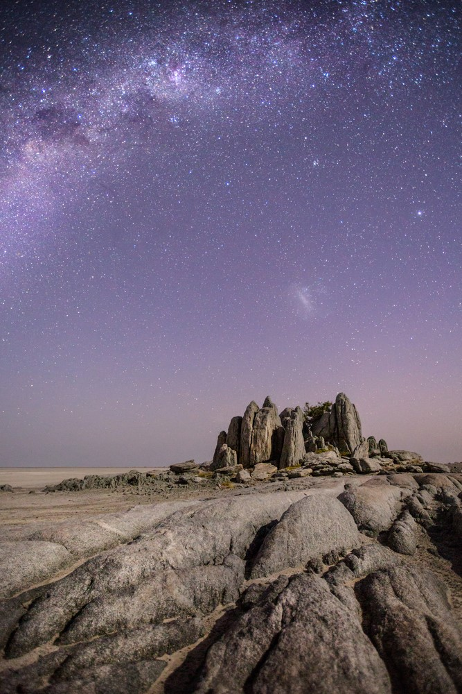 Places for introverts - Makgadikgadi Salt Pans, Botswana