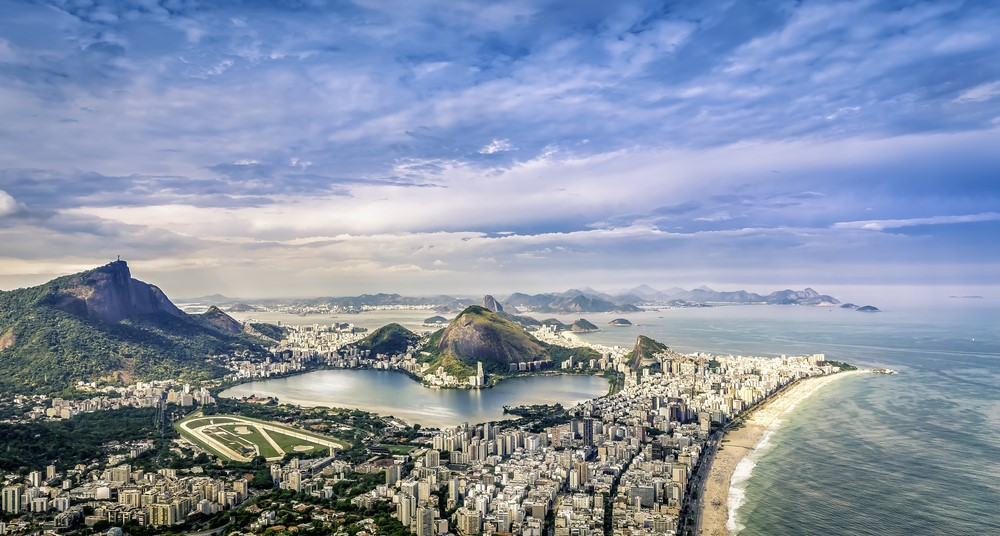 Facts about Rio Rio has the bluest sky