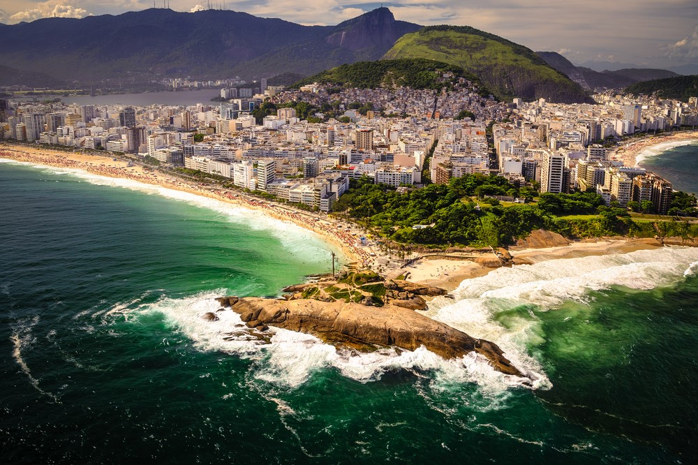 Facts about Rio Copacabana is the most densely populated place in the world