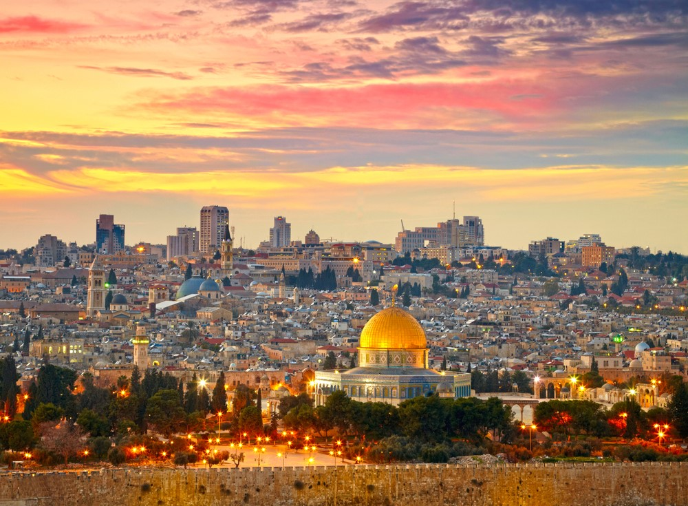 Places to travel on a budget Jerusalem, Israel