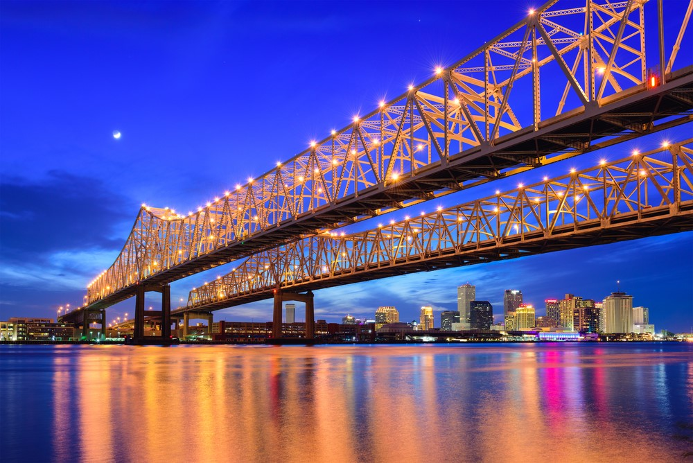 Places to travel on a budget New Orleans, USA