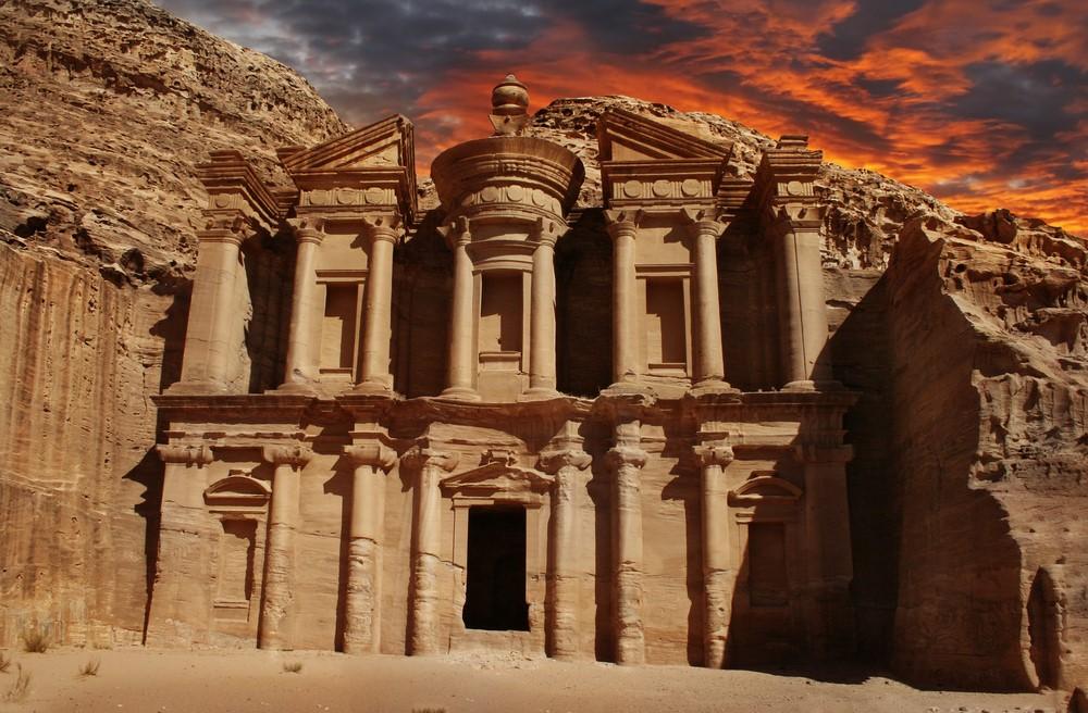 Destinations from films and TV Petra, Jordan