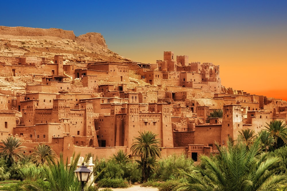 Destinations from films and TV Kasbah Ait Ben Haddou, Morocco