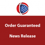 Order Guaranteed News Release