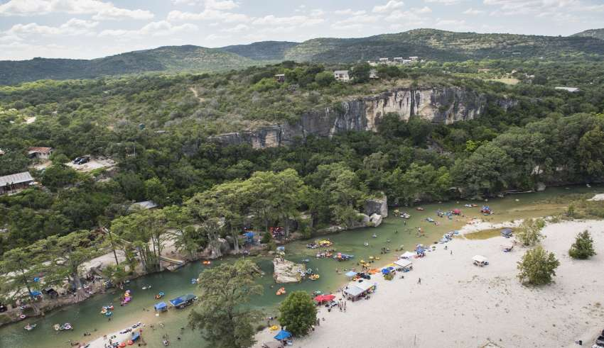 Aerial River water adventures