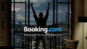 booking logo with tag