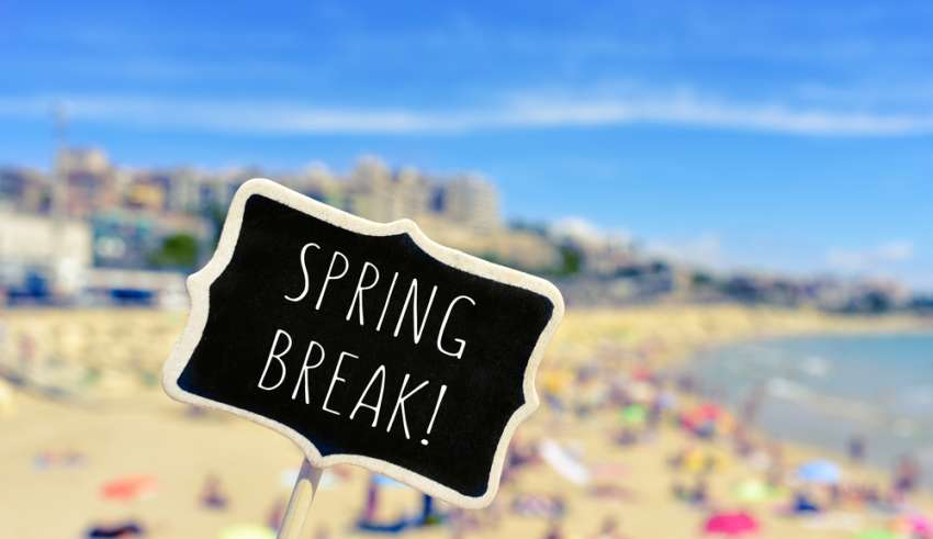 Booking com Releases 2017 Spring Break Travel Trends
