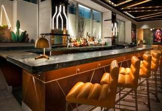 W Las Vegas Opened Its Doors in Sin City in December 2016 Living Room Bar Detail